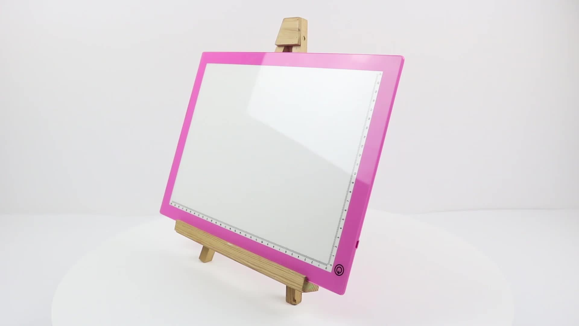 Nieuwe product ideeën 2019 A4 led light pad led tracing lichtbak led panel licht voor kids animatie