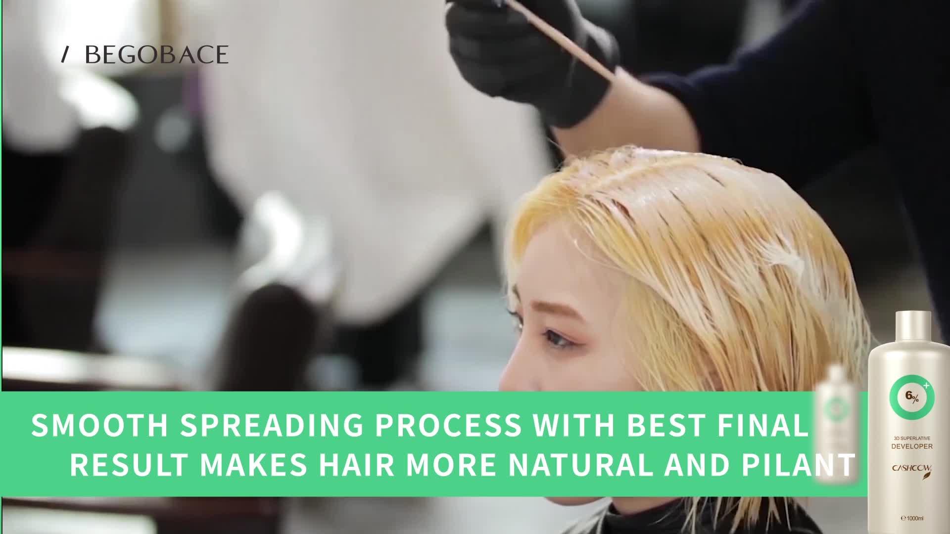 High Quality Hair Color Developer permanent Hair Color Oxident Cream