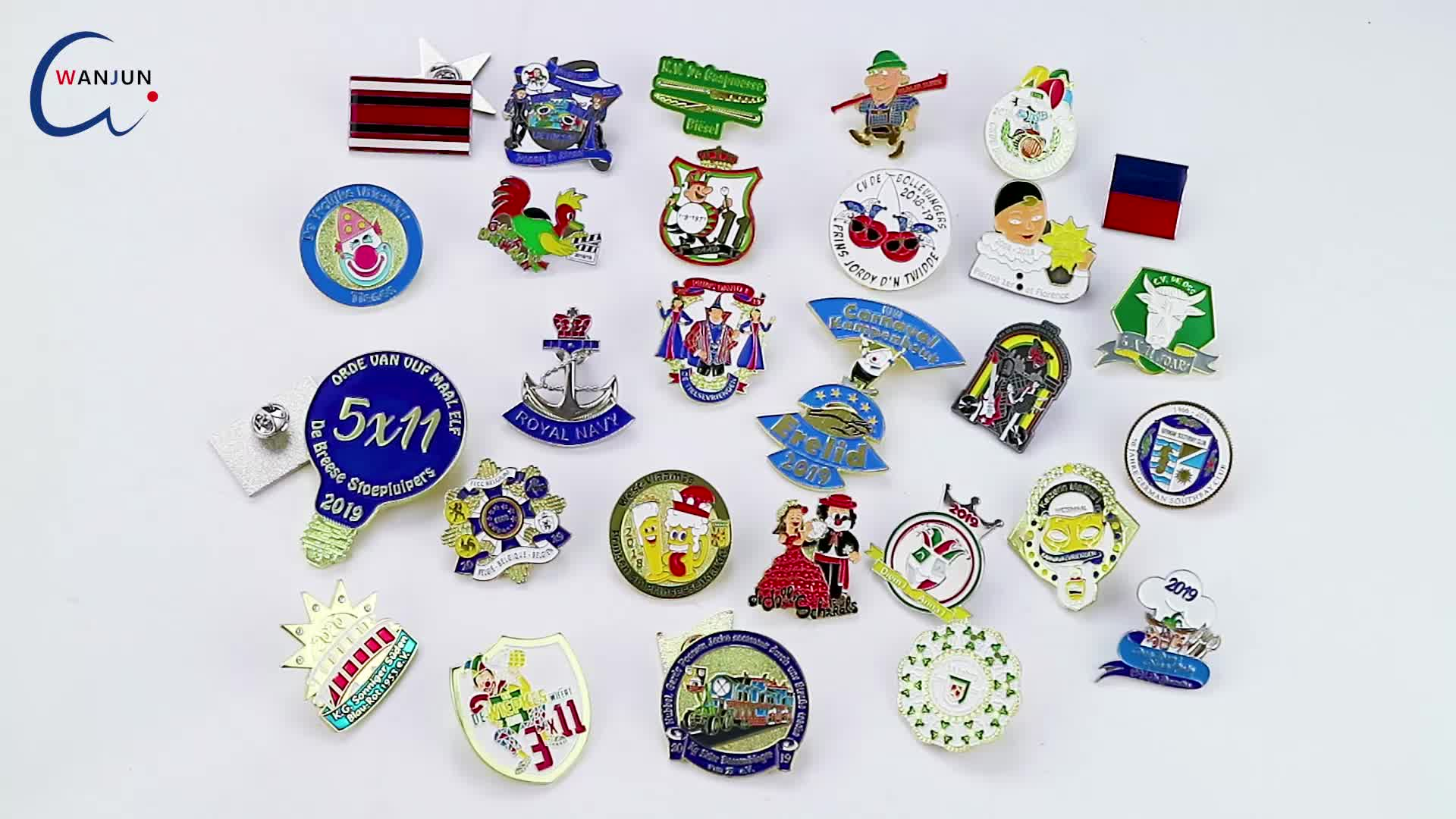 Custom Logo Stainless Steel Magnet Name Badges Office Card For Suit Mens Blank Lapel Badge Pin