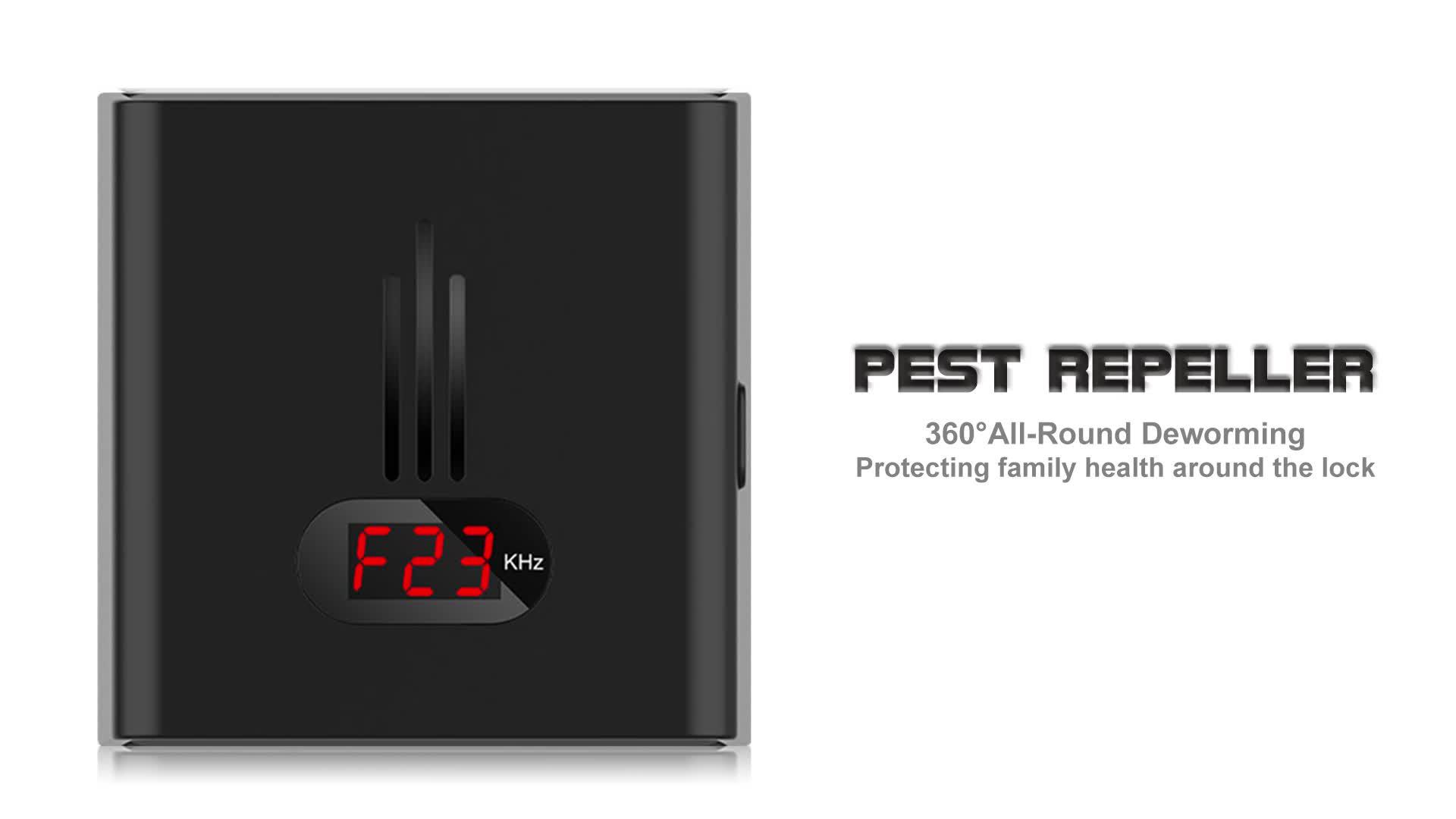 Mäuse, Ratten, Insekten Ultraschall Pest Control Repeller
