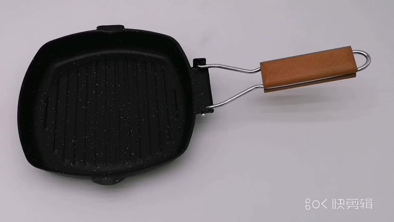 Non-Stick Cast Iron Korea BBQ Grill Pan