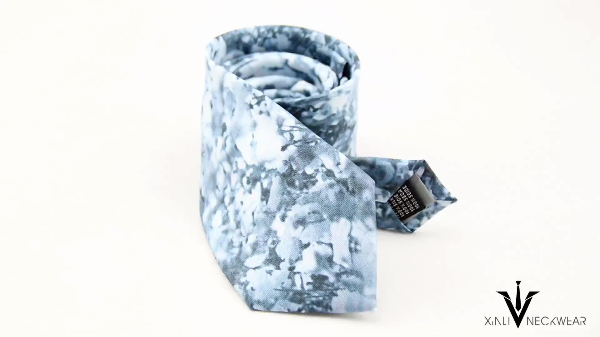 Günstige Individuell Bedruckte 100% Seide Krawatte Design Ihre Eigenen Logo Krawatten