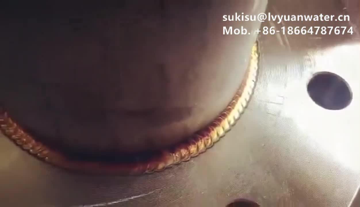 10 20 inç Jumbo BB Kartuş Paslanmaz Çelik Su filtre yuvası