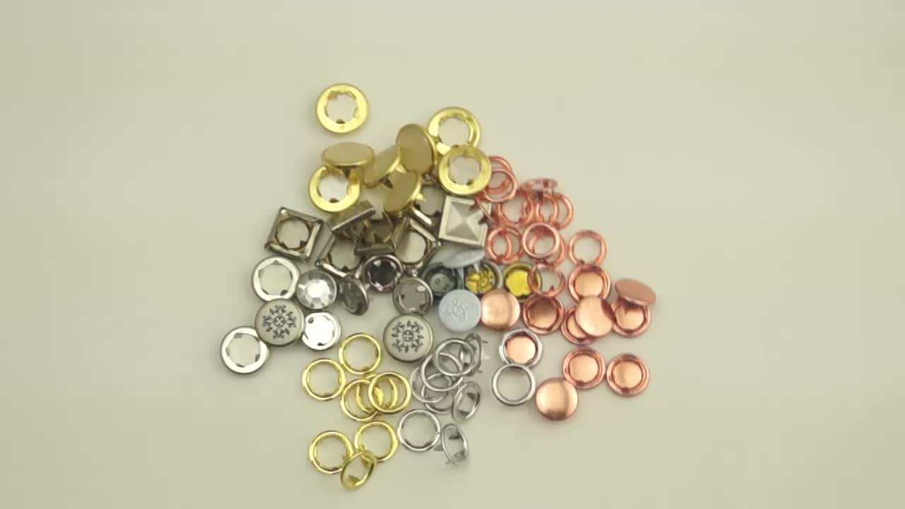 캡 shape metal snap button snap 패스너 도매 snap button
