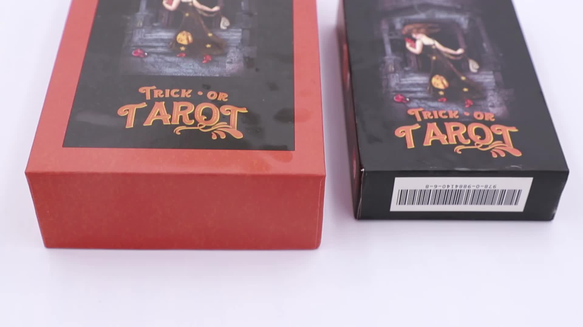 100% Manufacturer Printing Custom High Quality Beautiful Divination Tarot Cards Wholesale