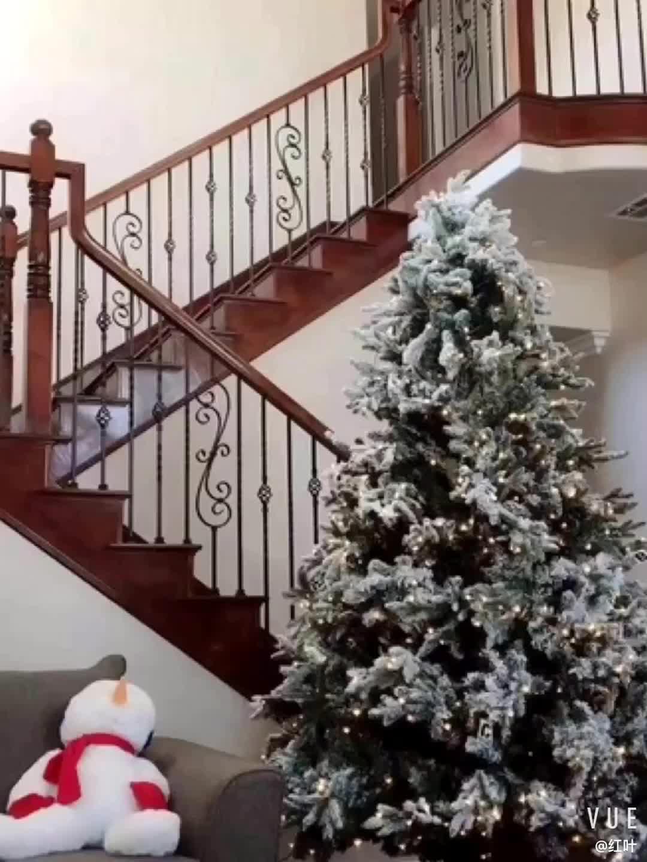 Weihnachten liefert künstlichen weißen Weihnachtsbaum des künstlichen Schnee Weihnachtsbaums