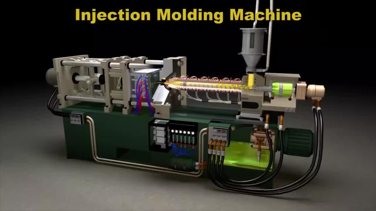 ماكينة تصنيع قوالب الحقن البلاستيكي التلقائي بالكامل