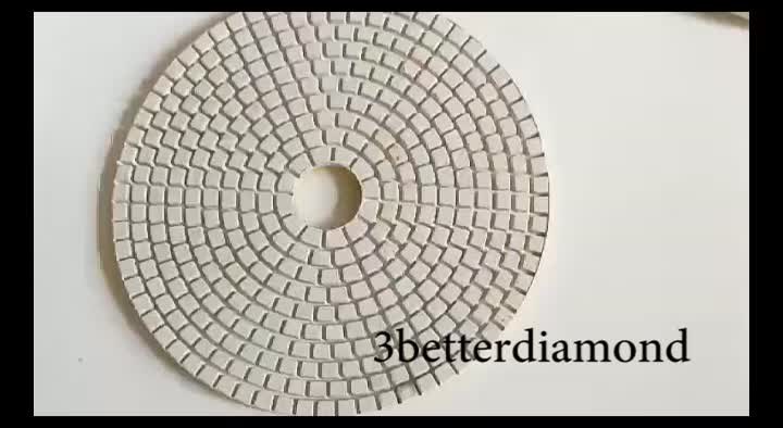 180 mm thin diamond polishing pads for angle grinder and  scabing meshen
