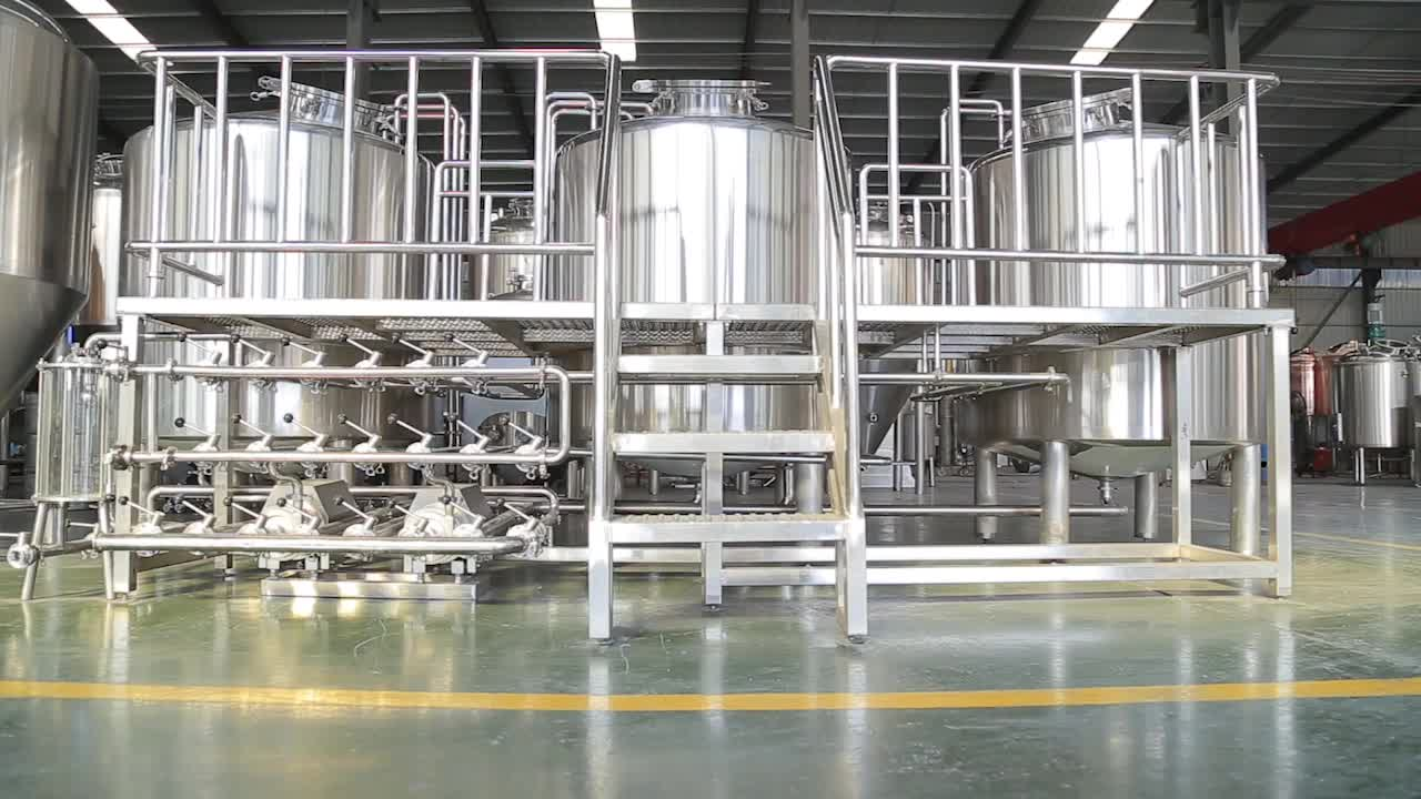 500l brew system brewery equipment beer fermenting turnkey plant for bar