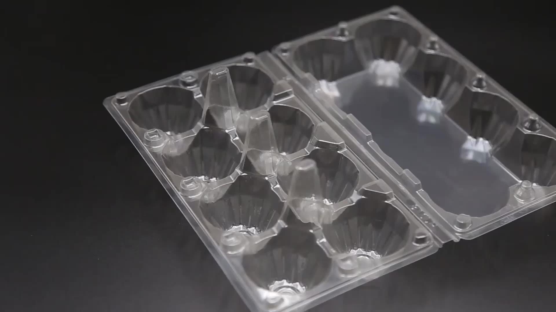 Amostra grátis de codorna frescos 20 células ovo embalagem bandeja de comida de plástico transparente caixa de embalagem de ovos de codorna para venda