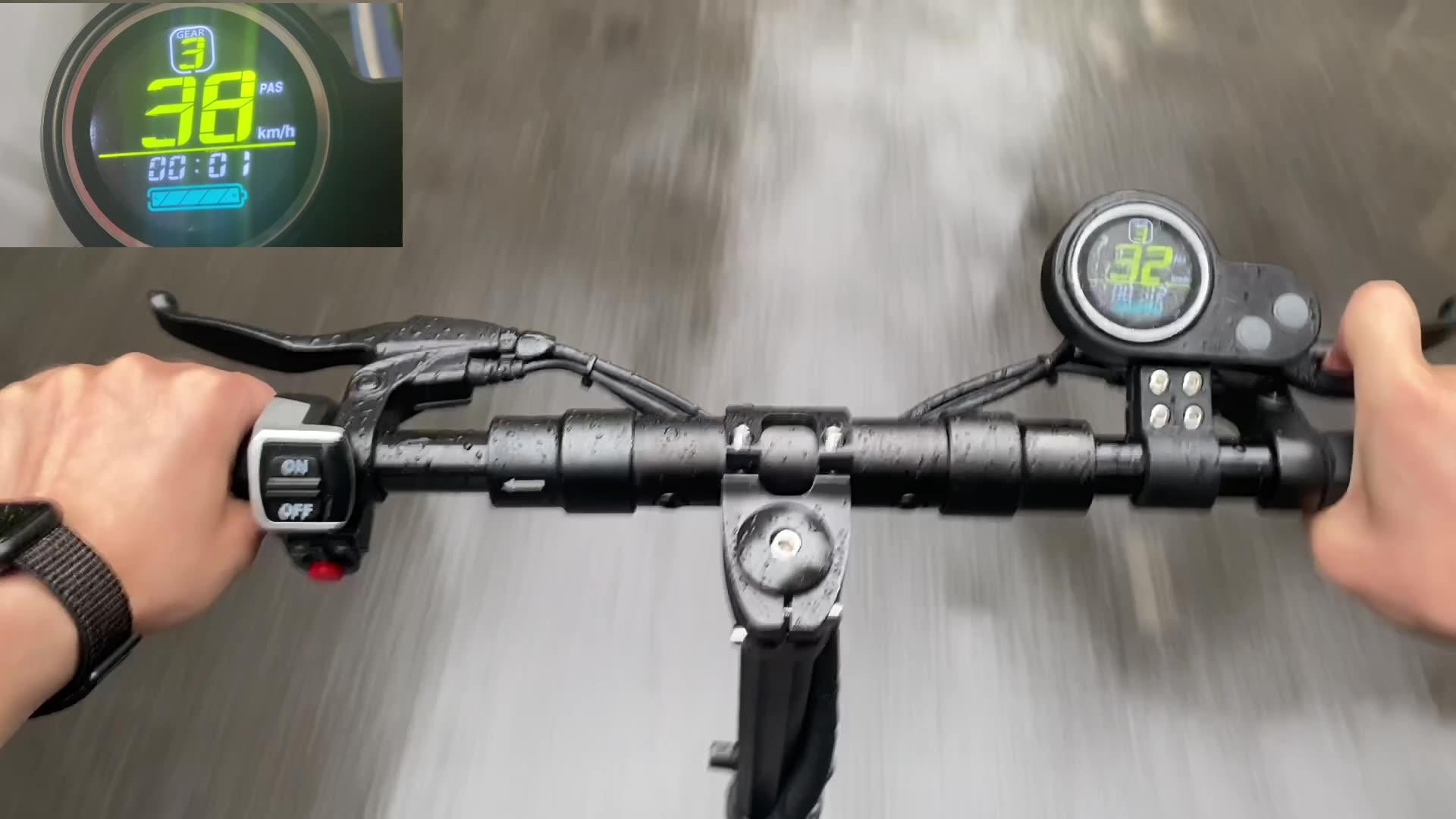 Trottinette électrique portable à 2 roues pour adultes, 48v, 500/800/1000w, nouveau style, en stock