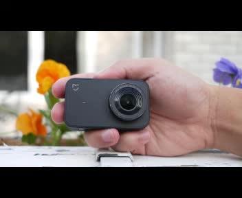 Orijinal Xiaomi Mijia Mini 4 K Eylem Kamera Akıllı Küçük Cam4K 30FPS