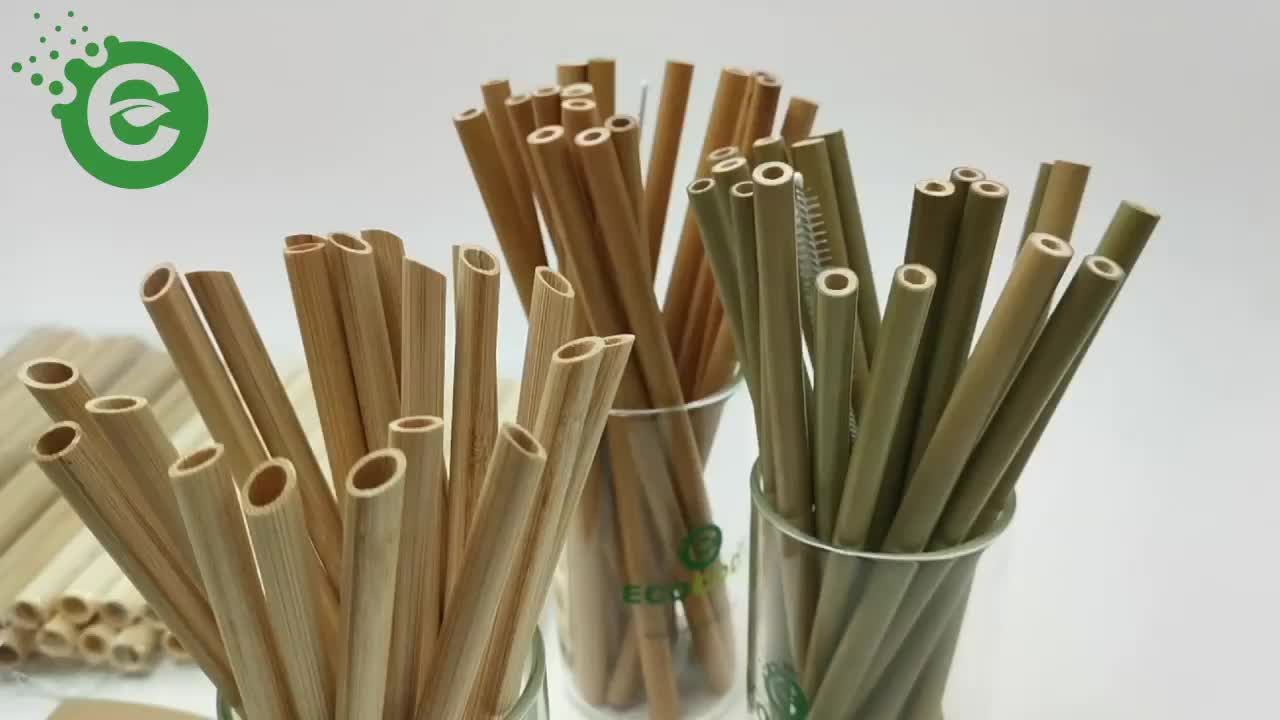 Zero Waste Carbonized Bamboo Drinking Straw for Kids