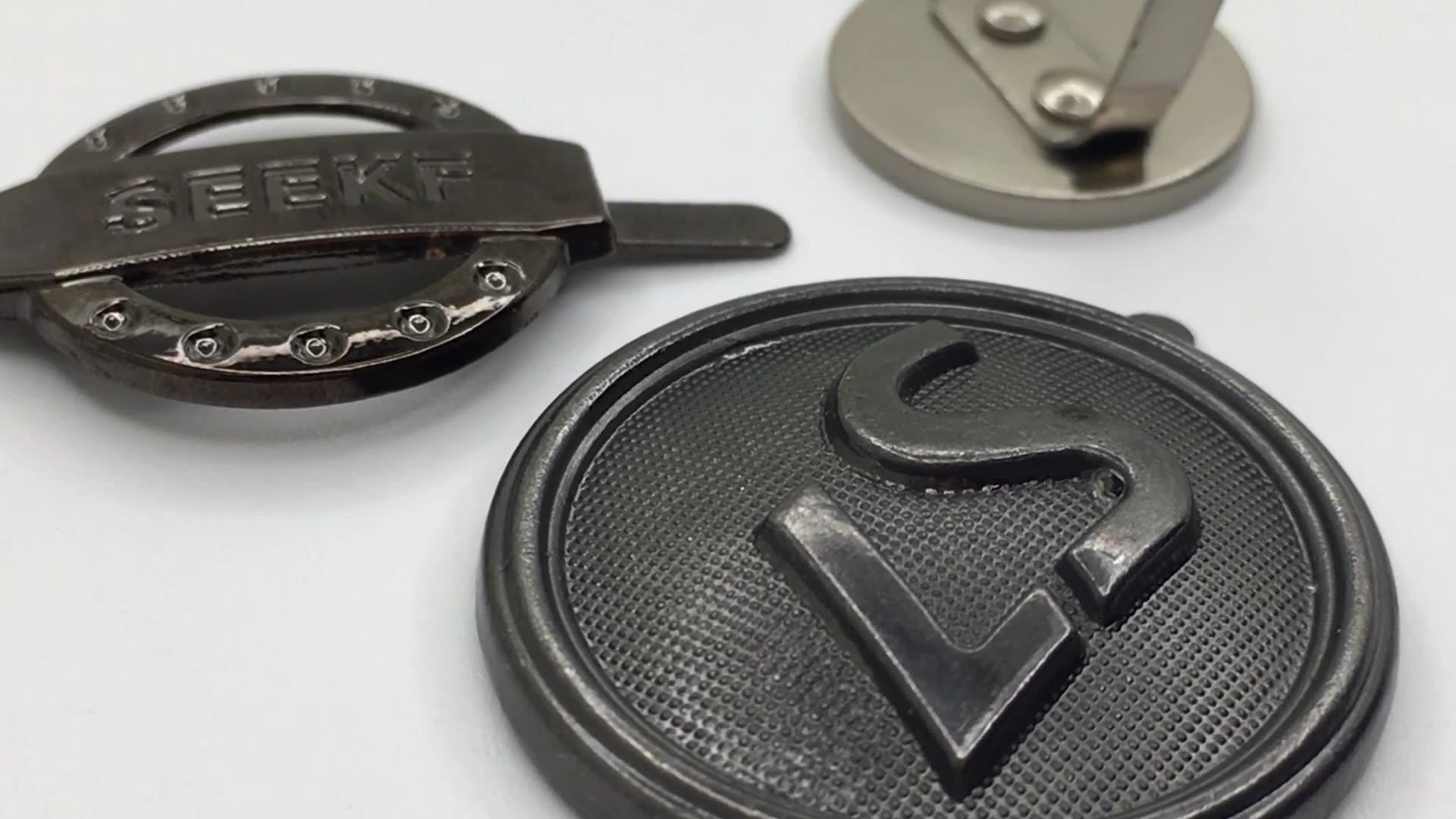 Gold Lock Alloy Handbag Strap Accessories Fastener Metal Bag Buckle For Shoulder Belt