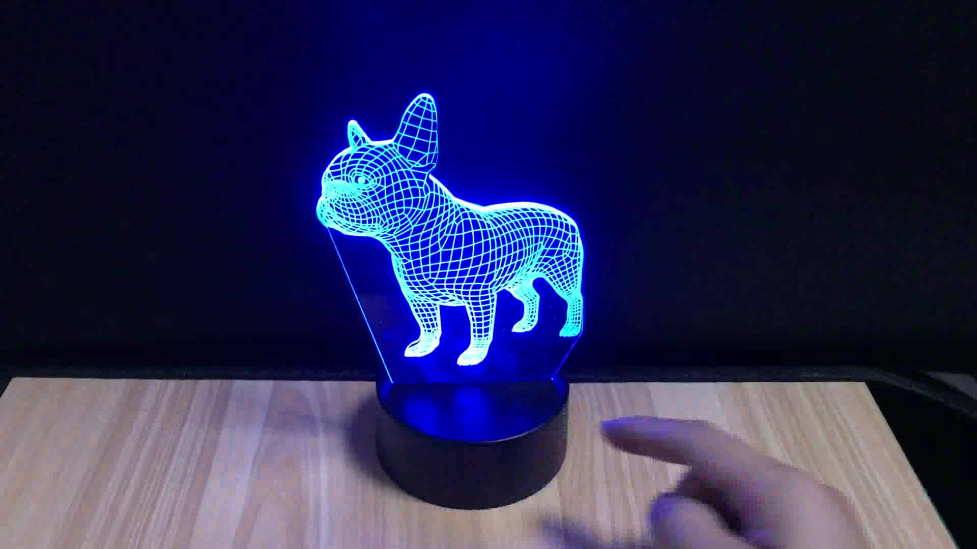 3D LED Night Light Lamps for Home Decoration 3D Optical Illusion 7 Colors Touch Table Desk Visual Lamp