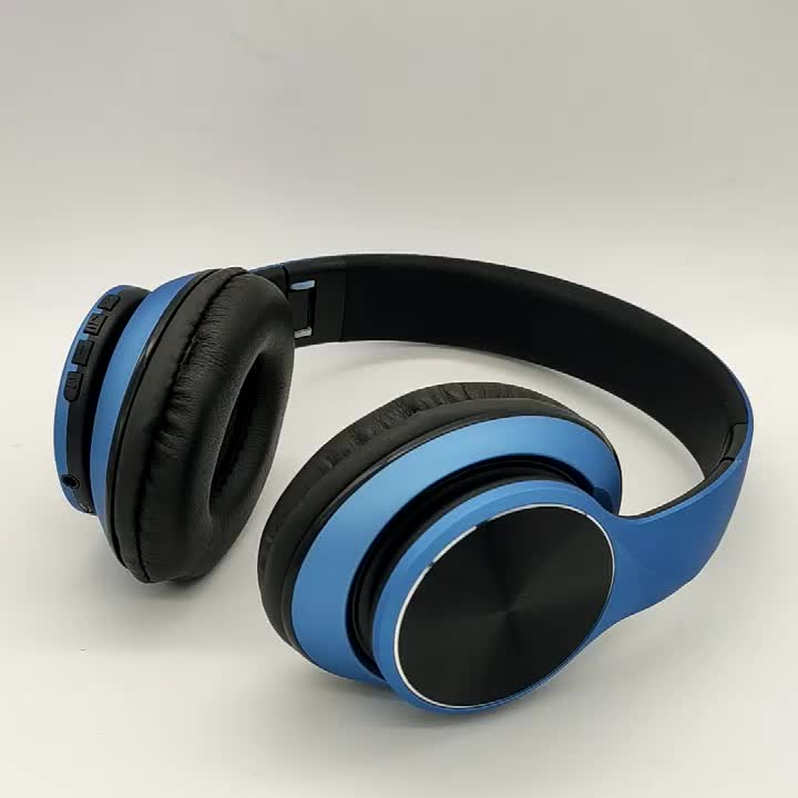 Over-Ear Headphones Foldable Wireless and Wired Stereo Headset Micro SD/TF, FM for Cell Phone,PC,Soft Earmuffs &Light Weight