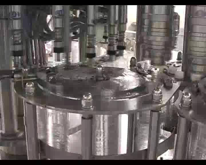 auto water bottle rinsing filling and capping machine