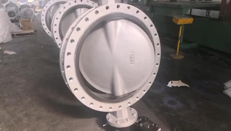 Dn125 dn150 dn 250 dn300 dn400 dn600 dn700 dn800 dn900 sphäroguss disc flansch schmetterling ventil