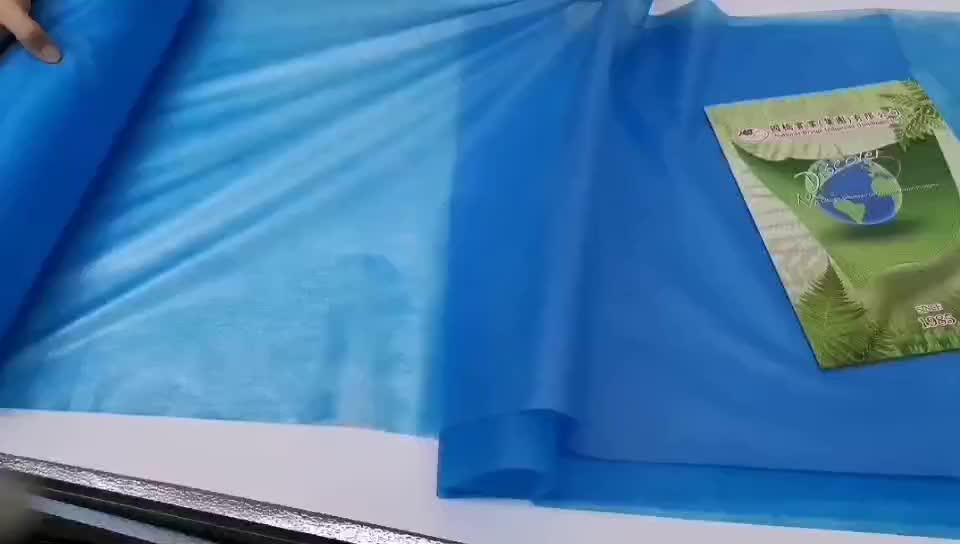 使い捨て防水ベッドシートと生分解性 pp または PP 積層スパンボンド不織布生地ロール