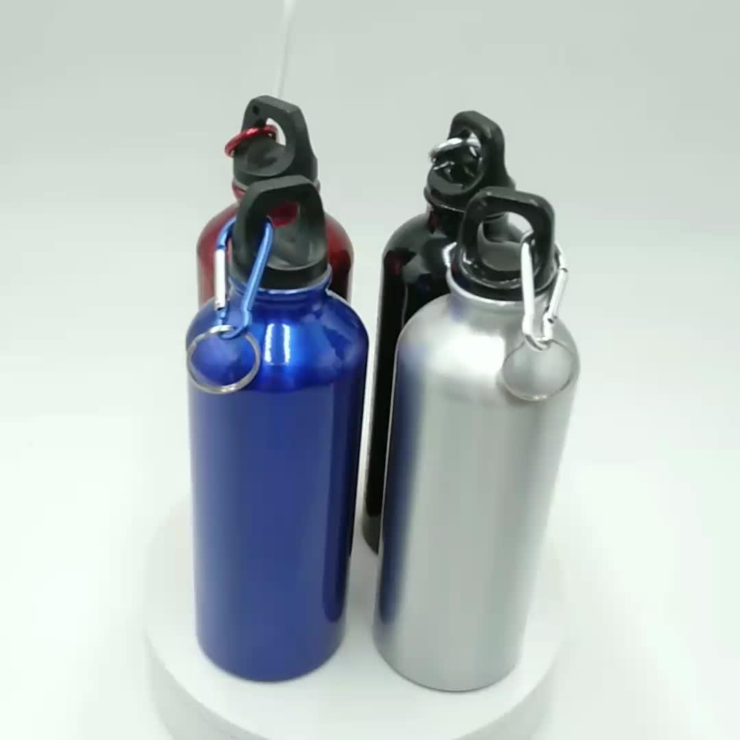 600ml Leere Sublimation Wasser Flasche Aluminium Sport Flasche Für Sommer Outdoor-Camping Radfahren