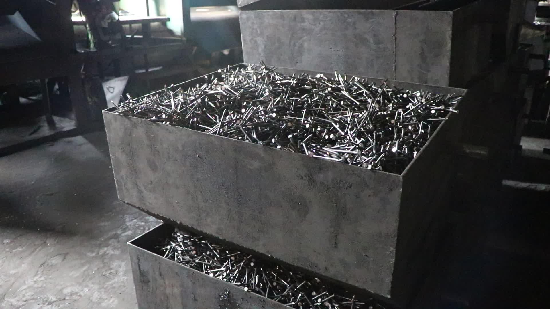 Hoge sterkte hoge kwaliteit goedkope prijs gemeenschappelijke draad nagels fabriek
