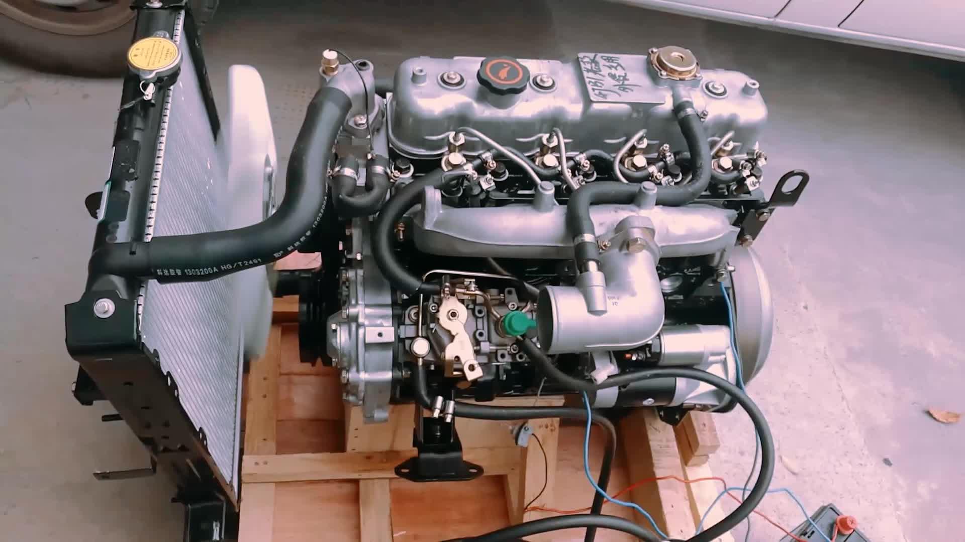 高品質低価格モーター 4jb1for モーターいすゞ 4jb1 ターボ jmc いすゞ 4jb1 エンジン 57kw のためトラックピックアップ発電機使用