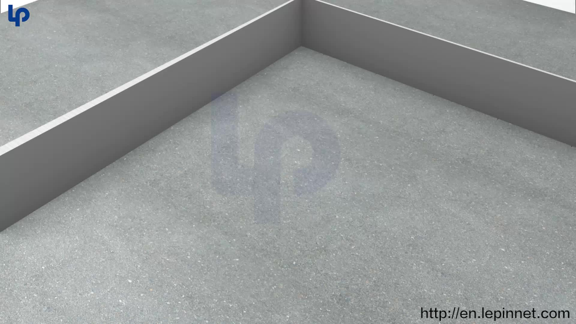 ningbo lepin factory fireproof calcium sulphata raised access floor HPL  plastic PVC on top access floor for office server room