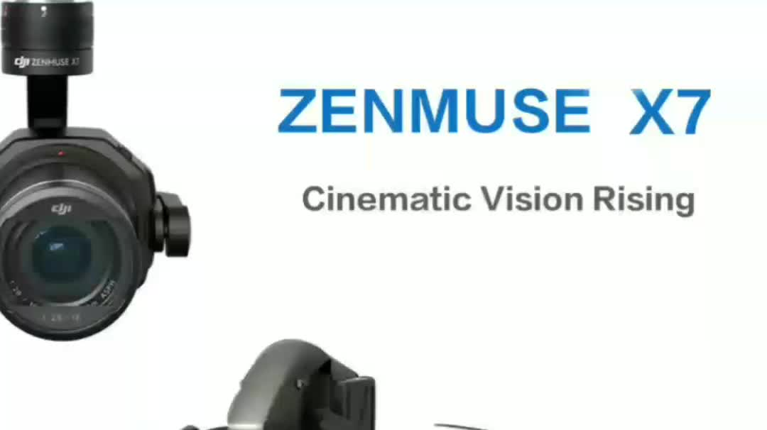 2018 latest Zenmuse X7 5.2K 16/24/35/50MP Gimbal Camera For Inspire 2 Drones In stock