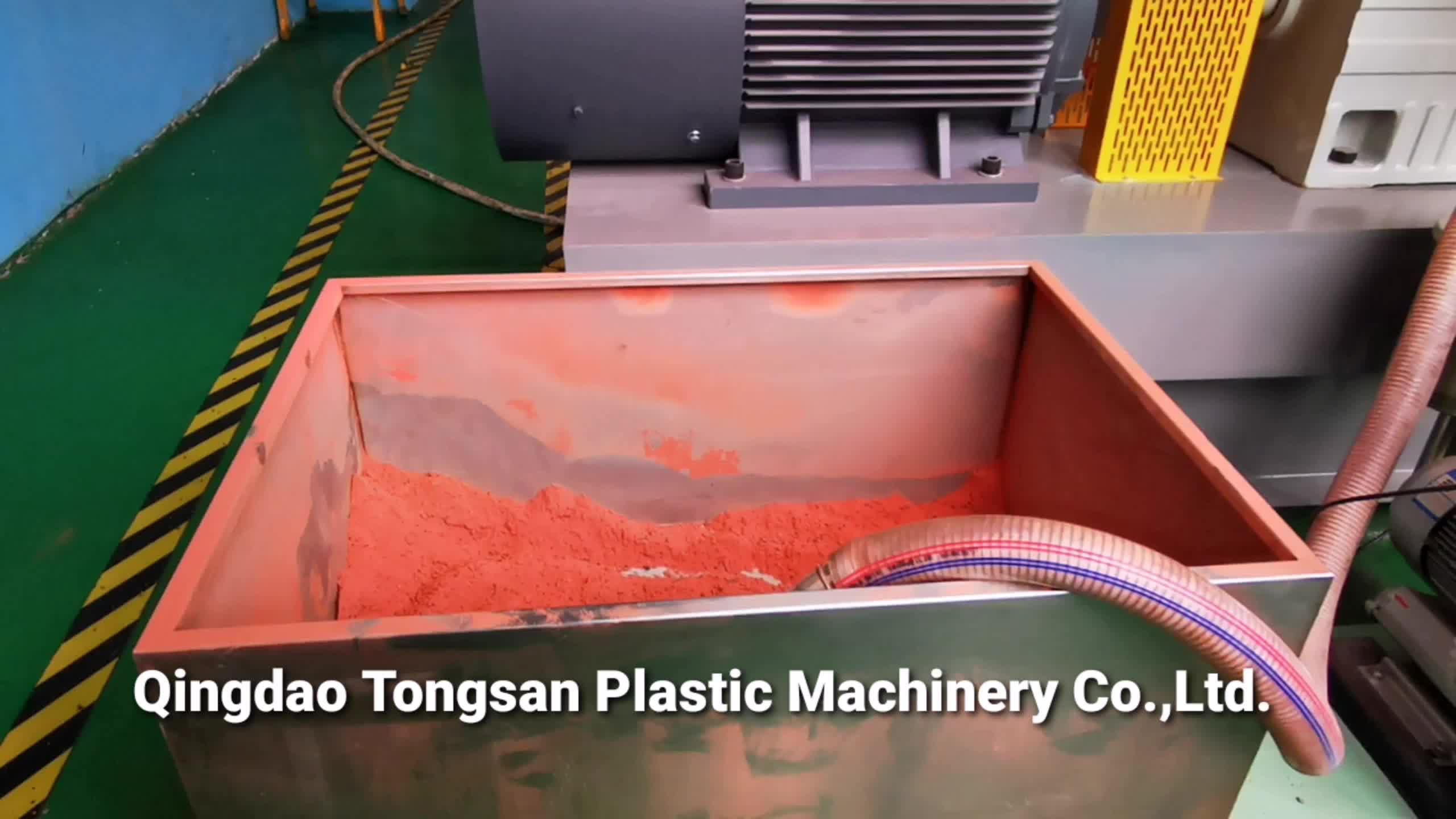 WPC pelletizing line / Wood plastic granulating machine / WPC wood plastic compounding granulator
