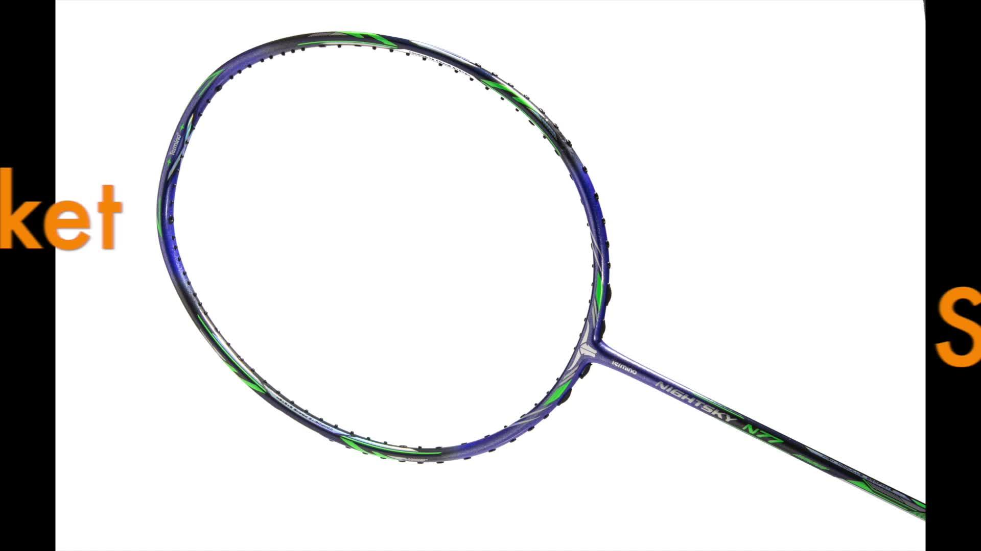 Extreem licht 58g 9U 30lbs max spanning G5 professionele hoge modulus carbon fiber badminton racket