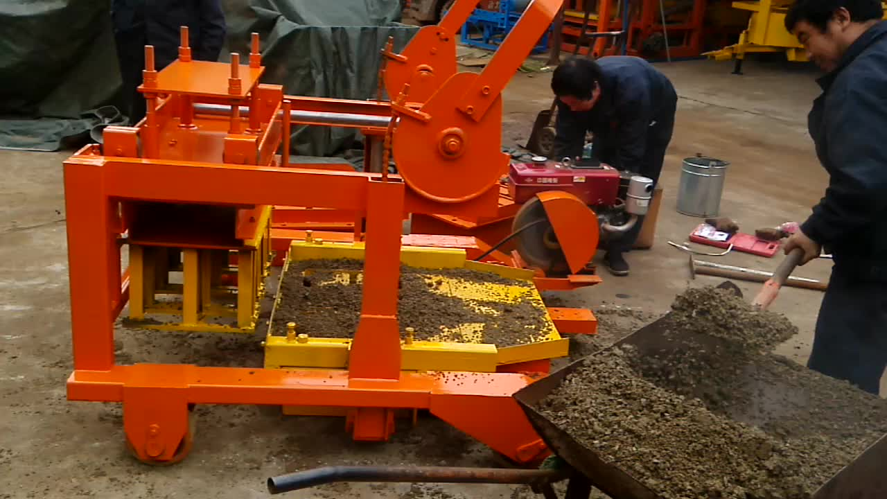 Qt4 30 Concrete Block Making Machine Price List In Nigeria