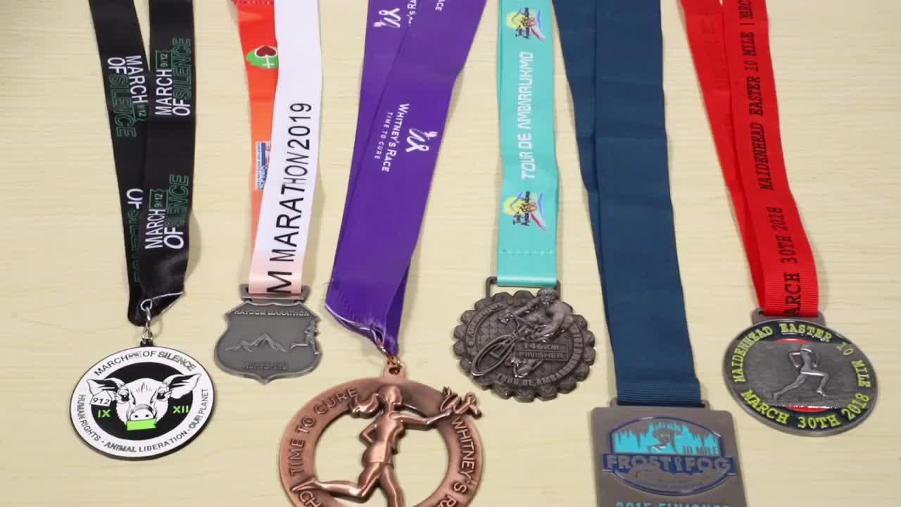 High Quality stamped custom sport design your medallion