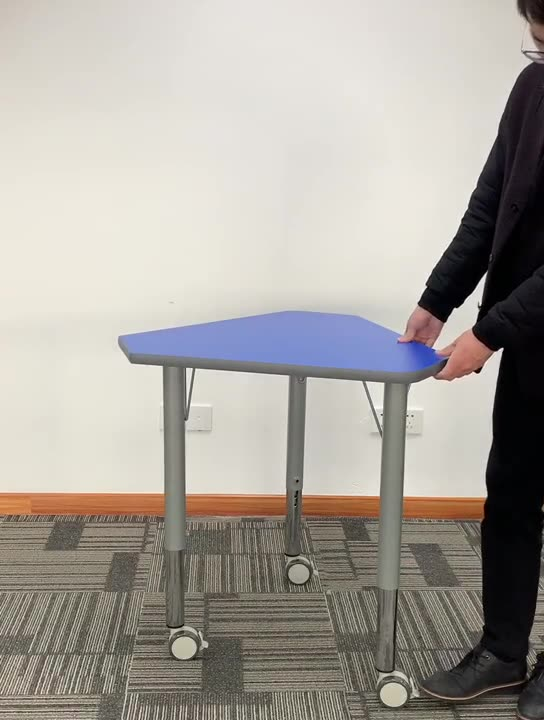 school student collaborative desk and chair