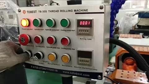 Perno y tuerca máquina de fabricación de barras de refuerzo de varilla de acero tornillo de máquina de roscar máquina de corte de hilo