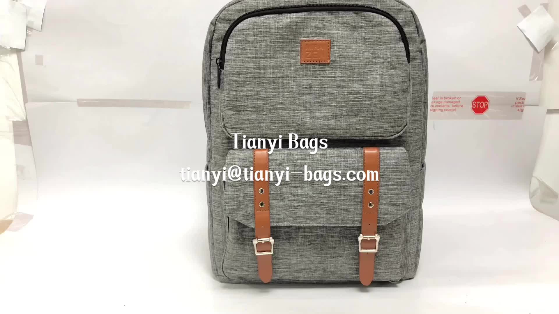personality mens travel usb charging laptop backbag custom backpack with logo