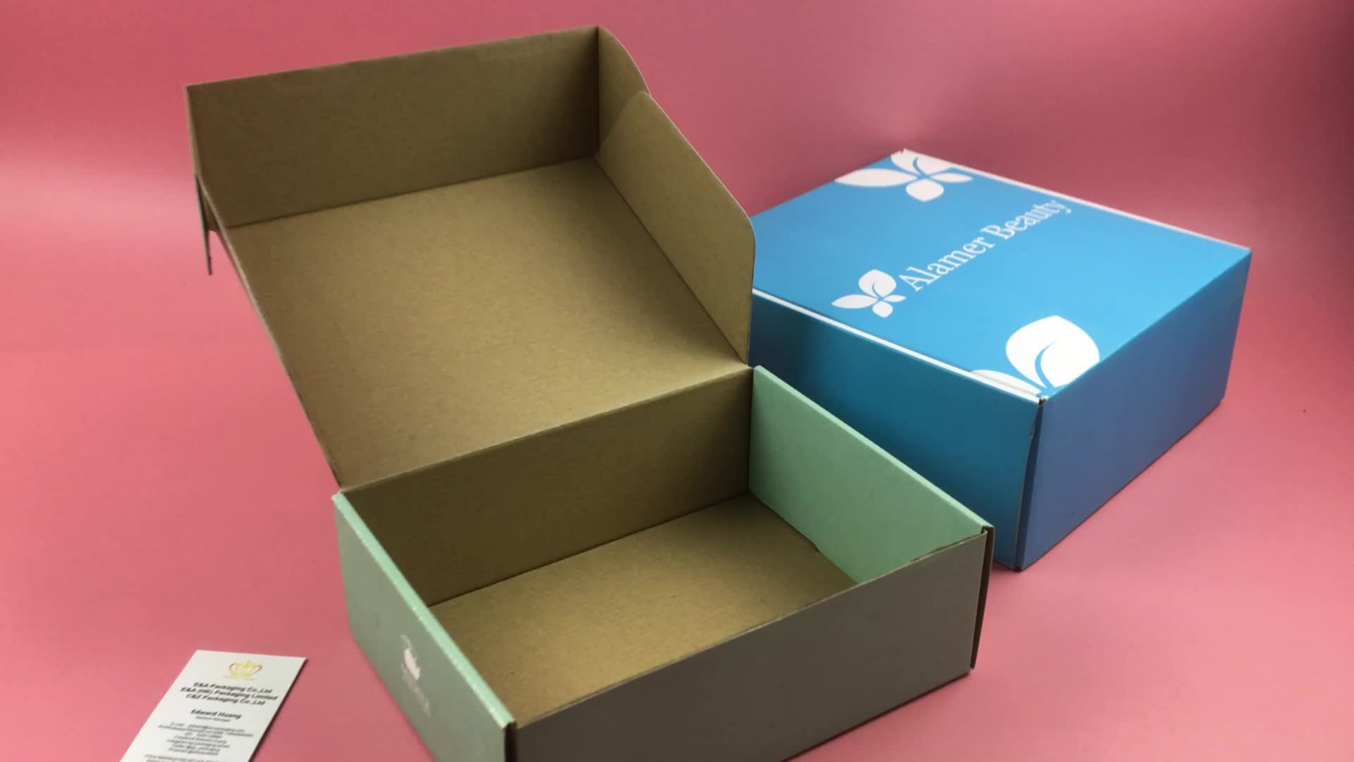 China Supplier Custom Printing Corrugated Shipping Mailer Box For Clothing