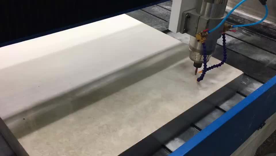 Multifunzione Marmo Granito Piano di Lavoro Lavandino Foro di Taglio Lucidatura Macchina del Router di Cnc Scultura di Pietra Macchina Per Incidere