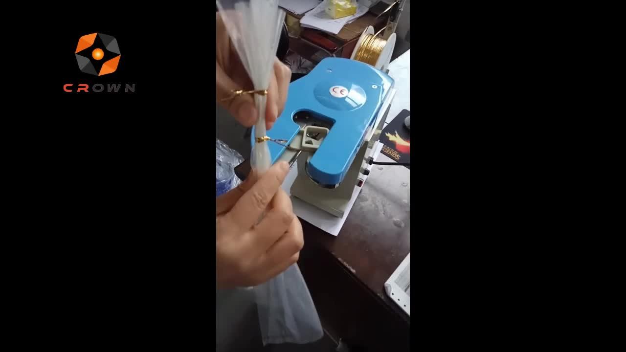 PVC Metallic Twist Tying機/Breadバッグツイストネクタイディスペンサー