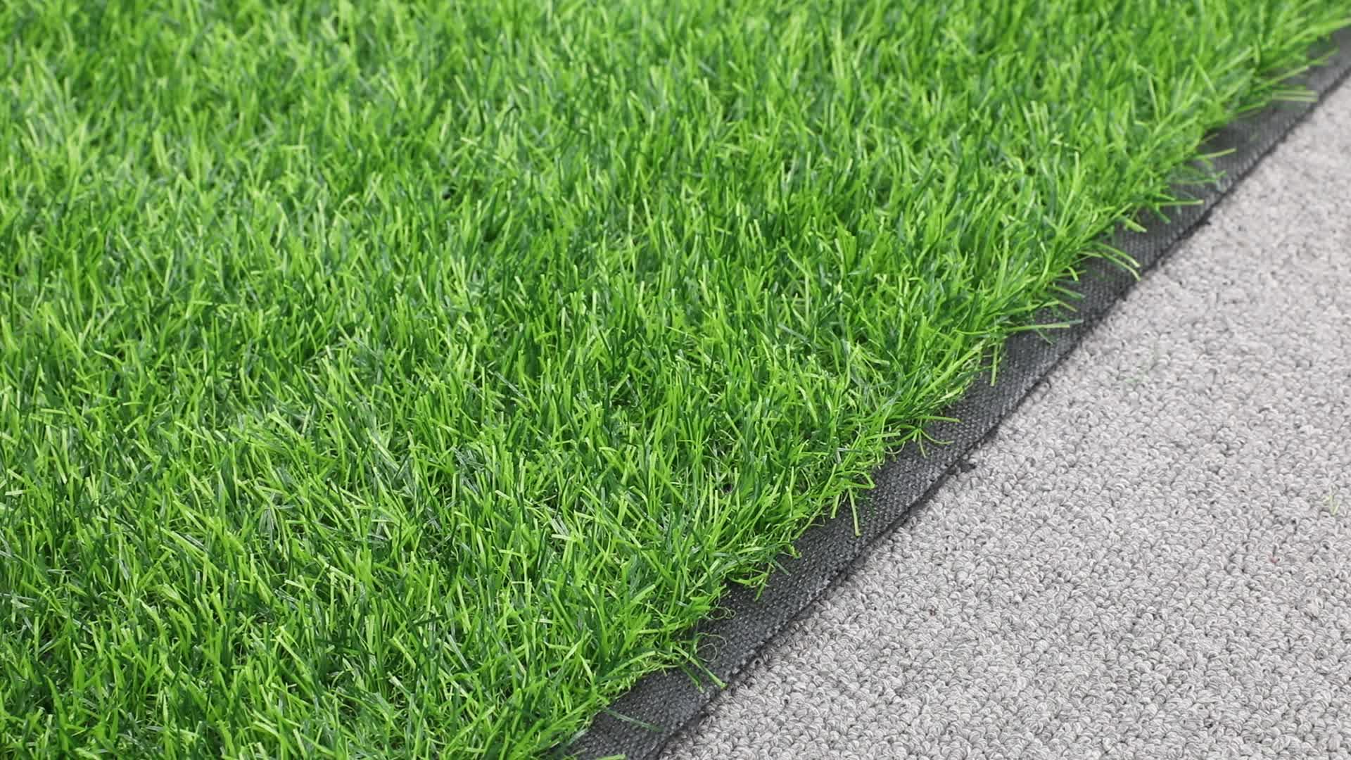 Confortável Esportes campo de futebol de Grama Artificial tapete tapete de grama sintética