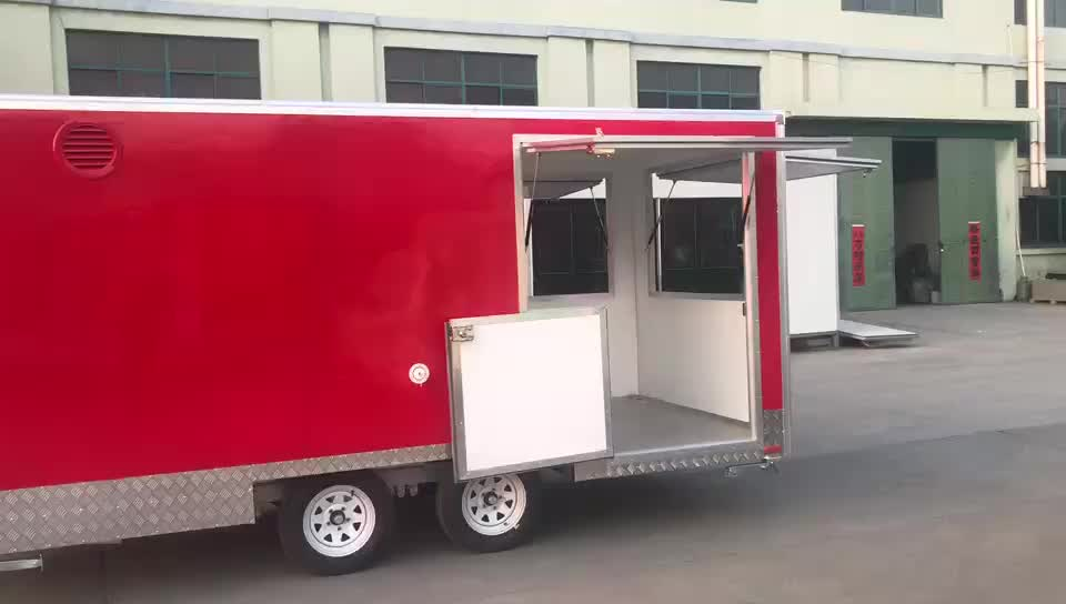 Máy tự động cho kebab thực phẩm van trailer, thực phẩm bánh giỏ trailer, thực phẩm kiosk để bán được sử dụng thực phẩm xe tải cho bán ở đức
