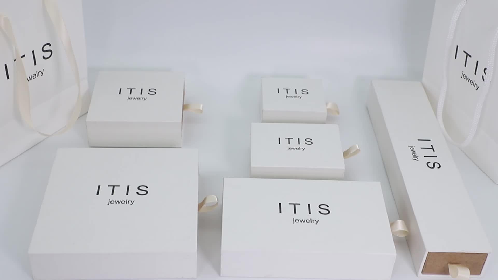 Custom logo luxury gift paper packaging watch box