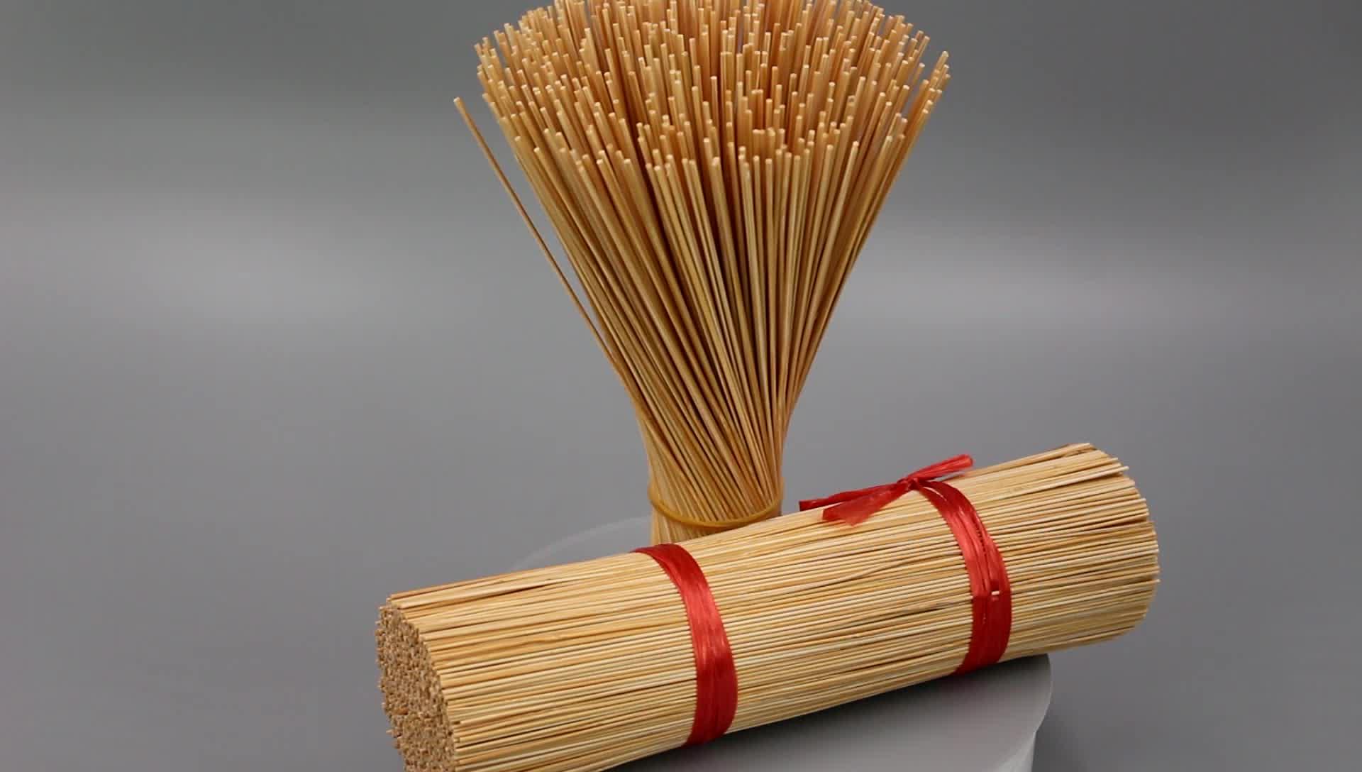 Indischer roher Bambus-Räucherstäbchen mit 1,3 mm Durchmesser