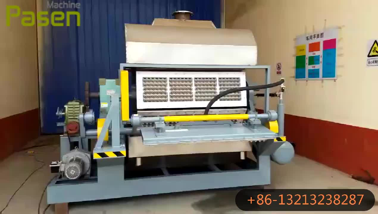 Industrial Egg Tray Making Machine, Egg Tray Froming Machine, Egg Carton Making Machine