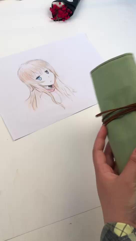 Más barato venta caliente abrigo de lona respetuoso del medio ambiente de dibujos animados conjunto de papelería regalos promocionales de la escuela suministros papelería conjunto para los niños
