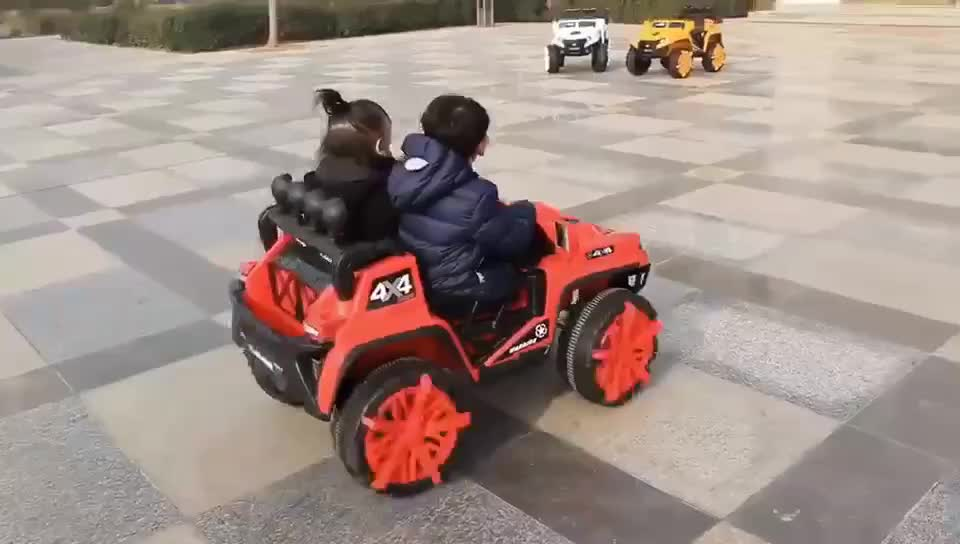 2019 China New style 4x4  kids electric car jeep with remote control for 2-8 years old kids