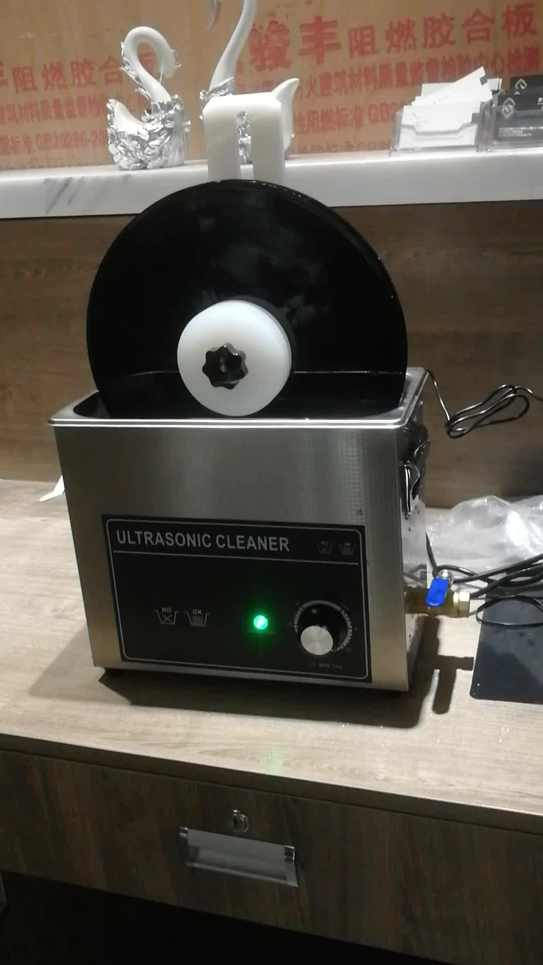 6.5L 180W Digital ultrasonic lp vinyl record cleaner