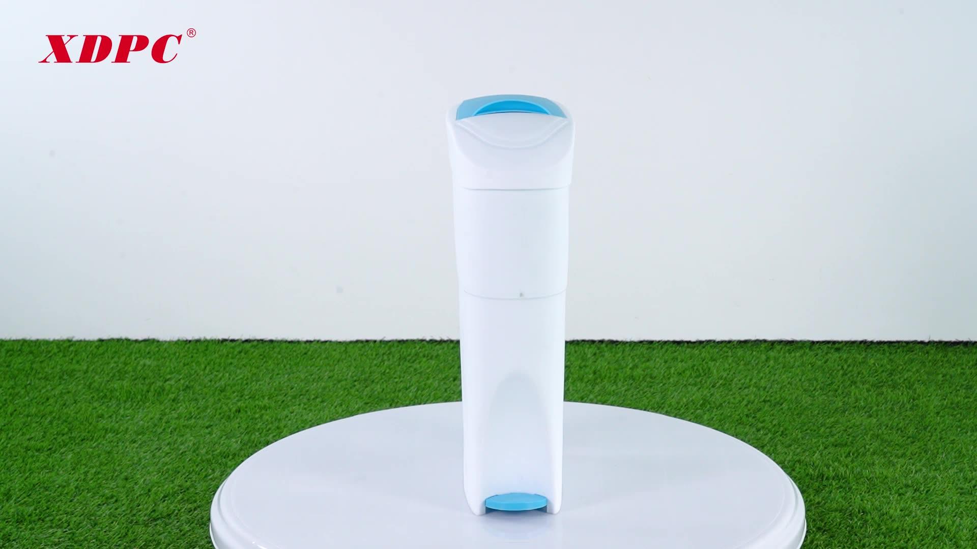 China lady sanitary dustbin pad disposal bin with perfume box