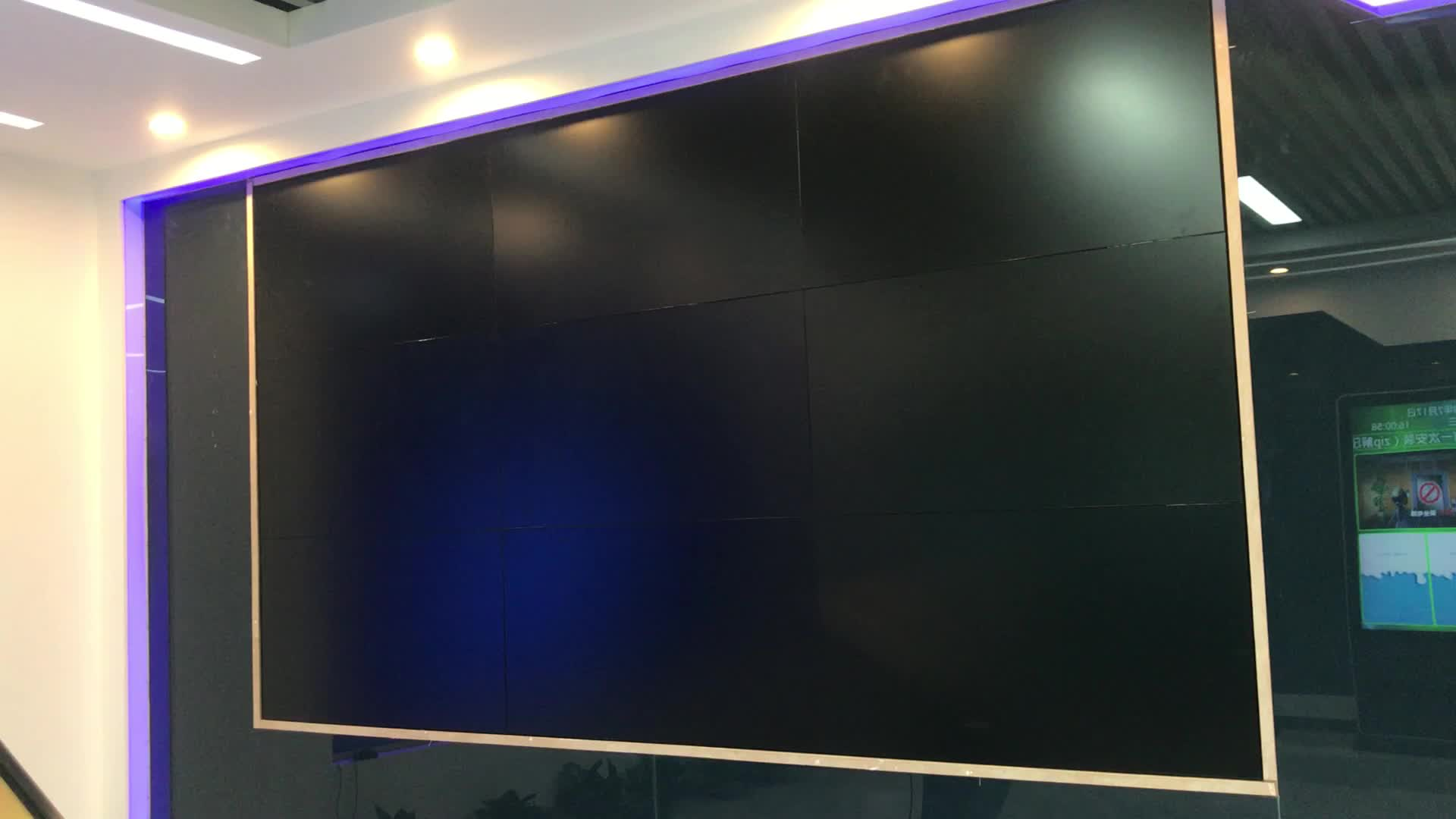 49 inch indoor meeting seamless 3x3 lcd video wall cheap video wall price indoor led video wall on sale