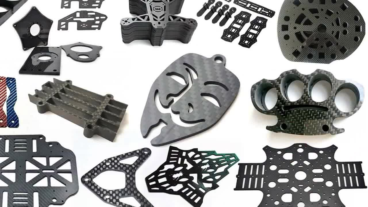 Custom made carbon fiber parts products