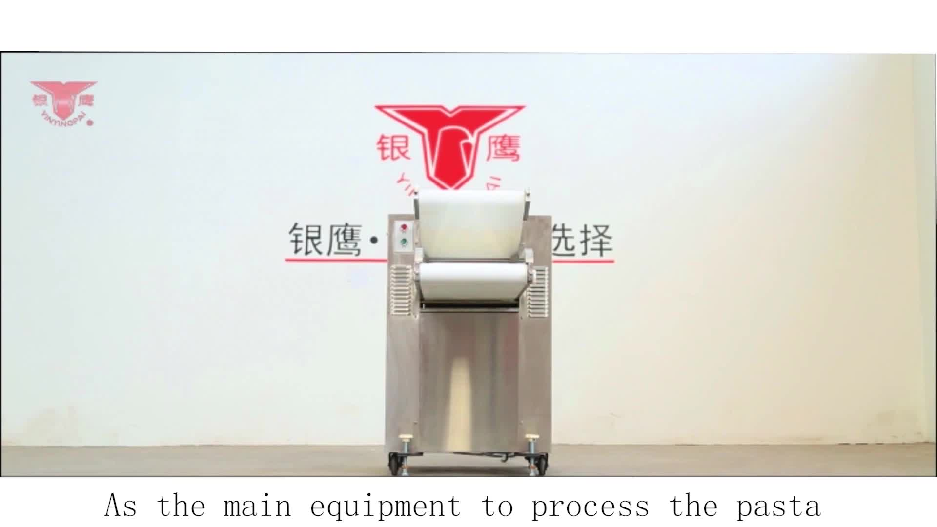 Yinying YMZD500 Automatic pizza dough press roller machine / pastry rolling machine